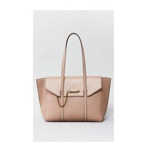 Mackage cream Barton tote